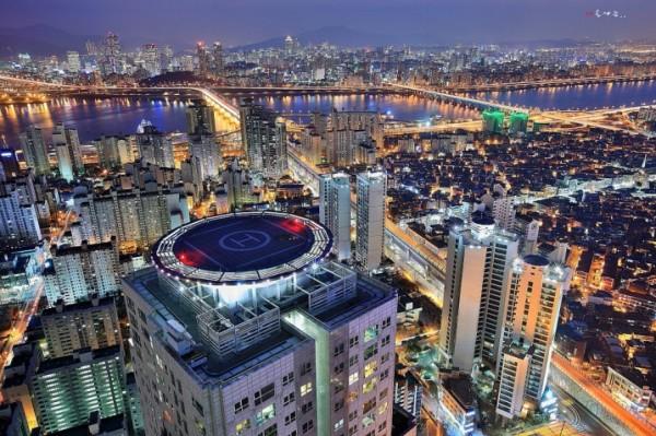 Seoul City Aerial View