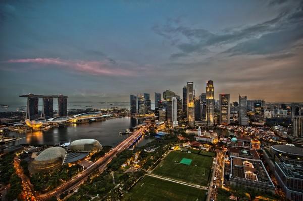 Singapore City Skyline Image