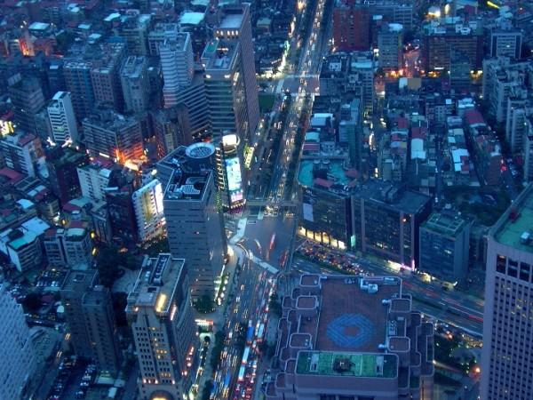 Taipei Skyline during Night