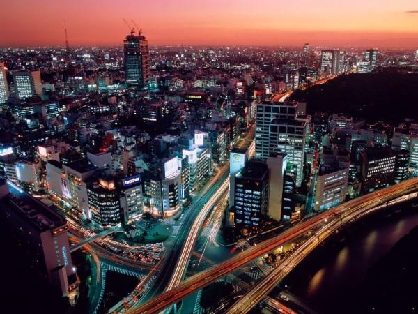 Tokyo Night Skyline