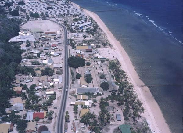 Nauru Aerial View