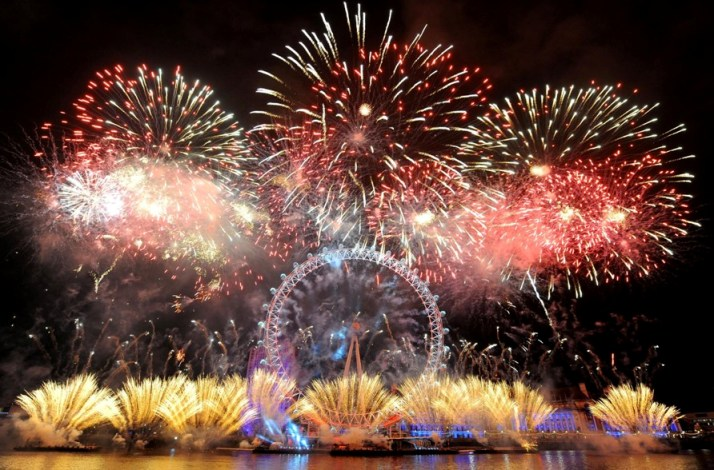 Central London New Year Eve