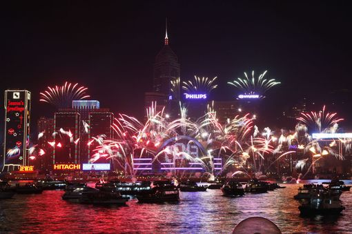 Hong Kong New Year Eve