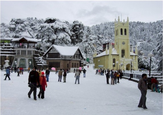 Shimla - Best Valentine Place in India