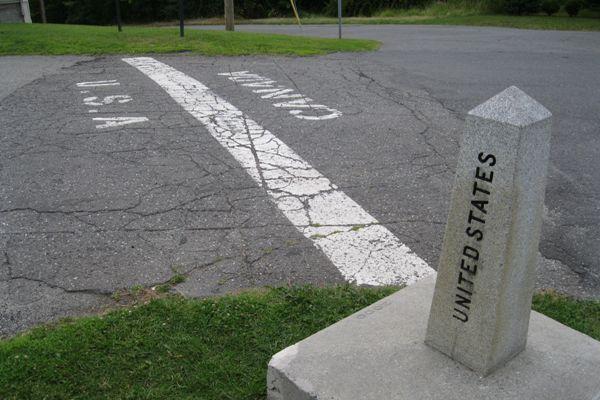 Derby Line Border USA & Canada