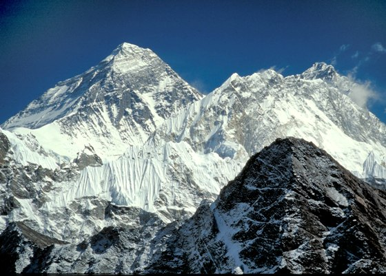 Mount Everest Nepal China Border