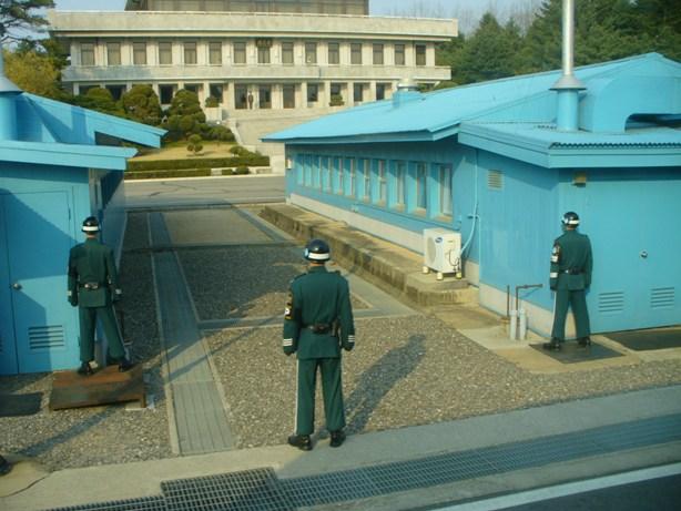 South Korea and North Korea Border