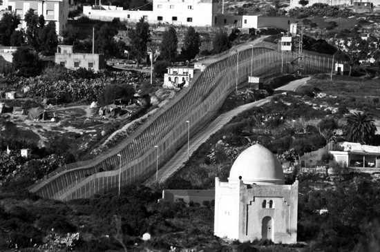 Spain Morocco Border Ceuta