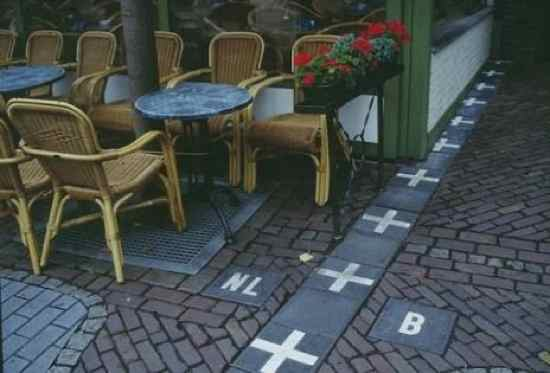 The Netherlands and Belguim Border