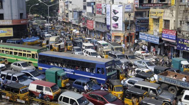 Chennai Road Traffic