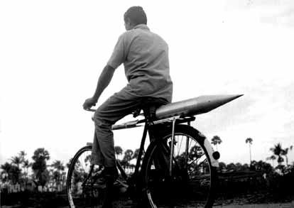 India's first rocket on cycle