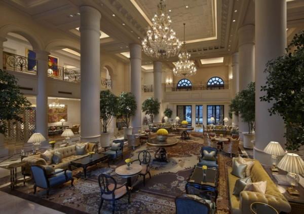 The Leela Palace Hotel in New Delhi