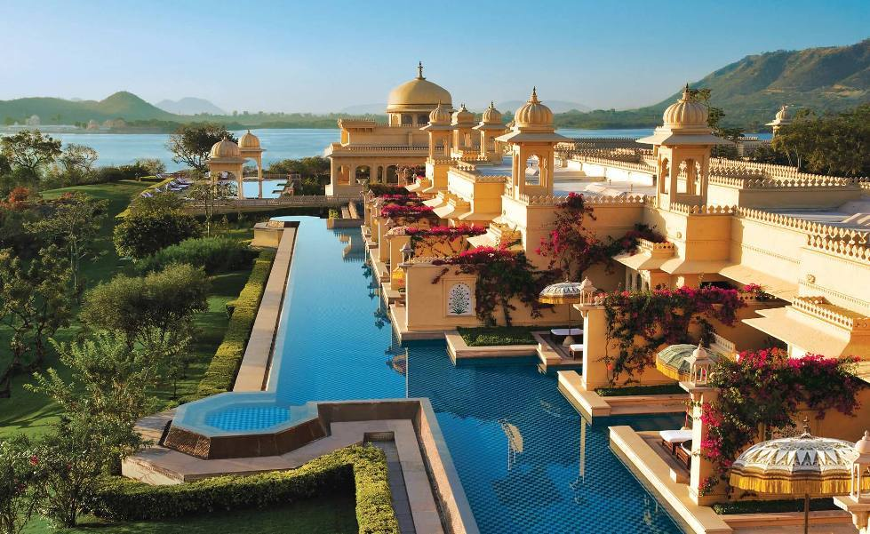 Top 10 most expensive hotels in india for Expensive hotels