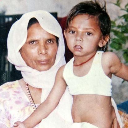 Kid as Hanuman Worshiped