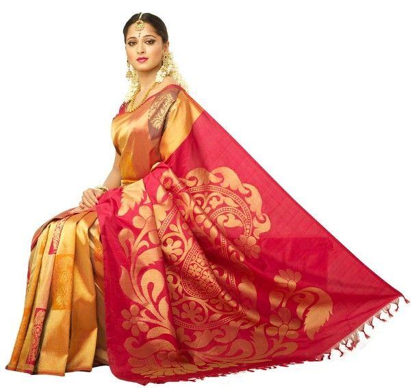 Indian Actress Madhuri Dixit in Traditional Indian Saree