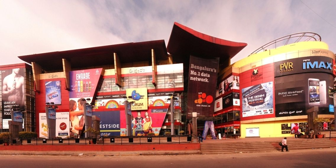 5 Biggest and Best Shopping Malls in Bangalore