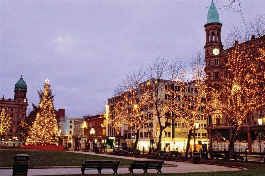 christmas market belfast jobs