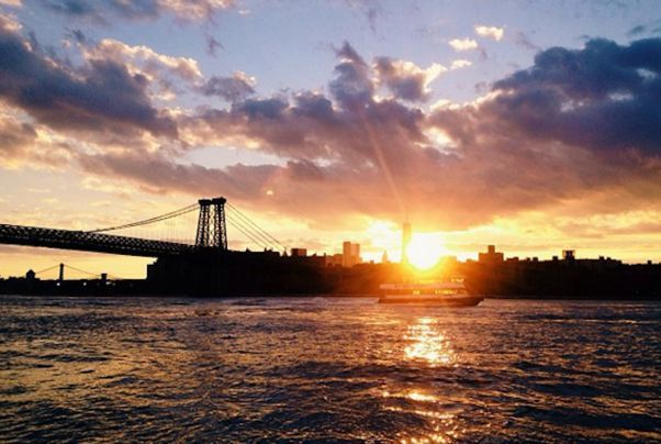 Grand Ferry Park, Brooklyn Sunset in NYC