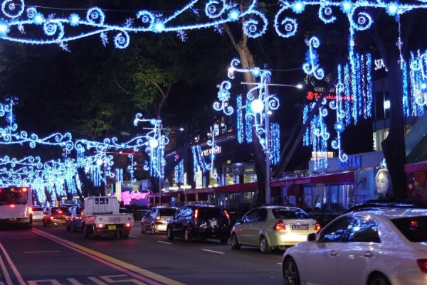 Orchard Road Christmas Light-Up