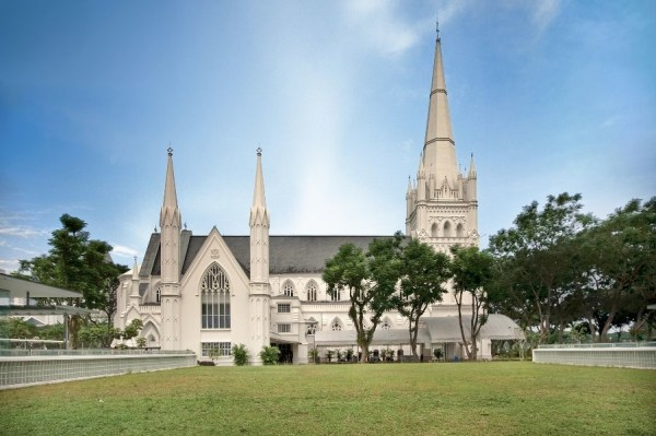 St. Andrew's Cathedral in Singapore