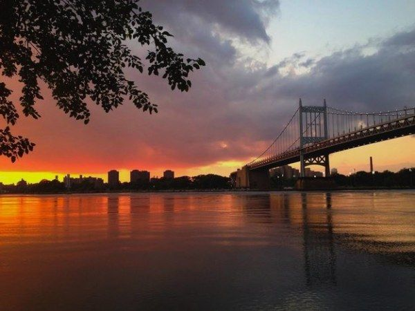 Astoria Park Queen Sunset in NYC