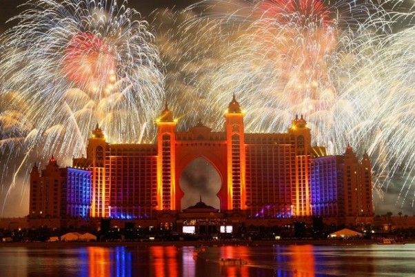 Atlantis the Palm Dubai New Years Eve Fireworks