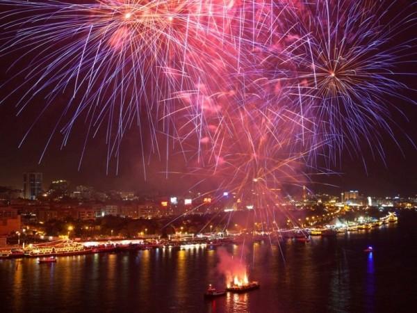 Dubai Shopping Festival Fireworks