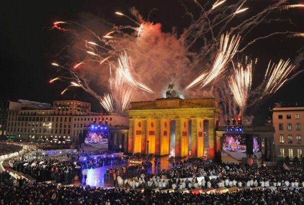 Berlin New Years Eve Fireworks