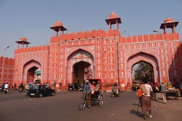 Jaipur Old City Gate