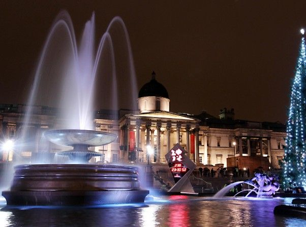 New Years Eve at Trafalgar Square London