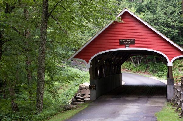 Flume Covered Bridge, Franconia Notch