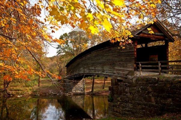 Humpback Covered Bridge, Covington, VA