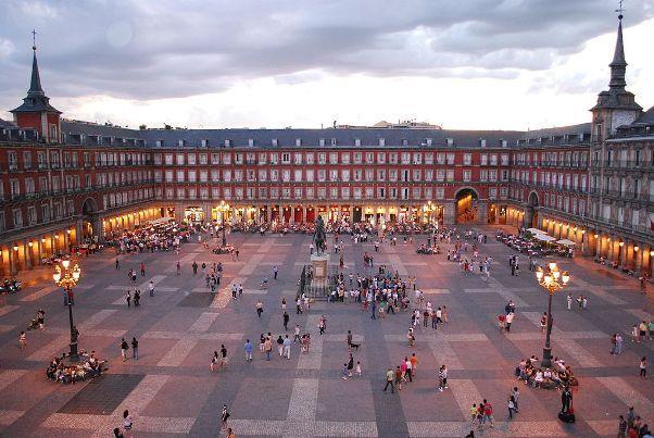 Plaza Mayor Square Madrid Spain