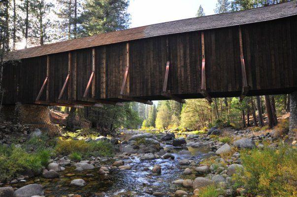 Wawona Covered Bridge, Yosemite National Park