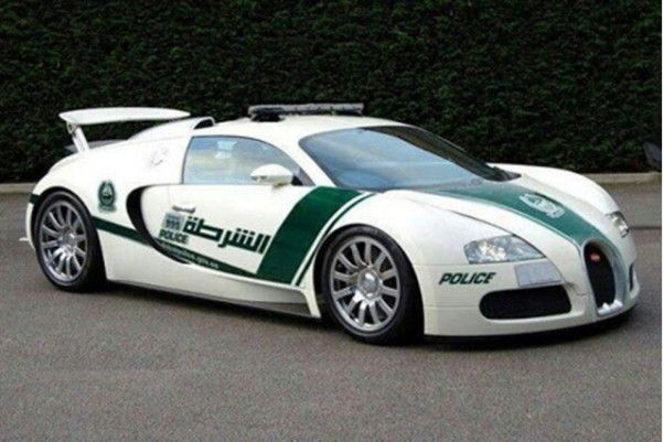 Dubai Police Luxury Car