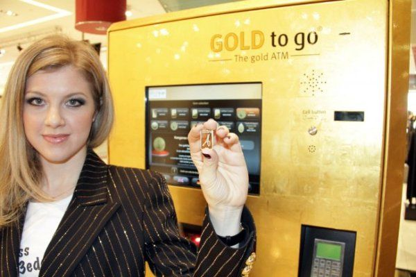 Gold ATM in Dubai