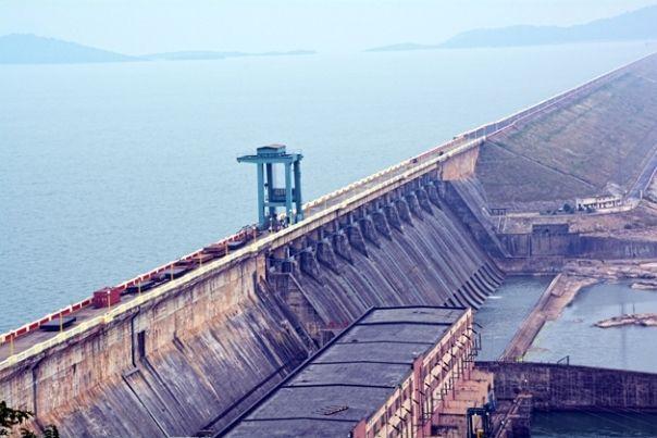 Hirakud Dam in Odisha