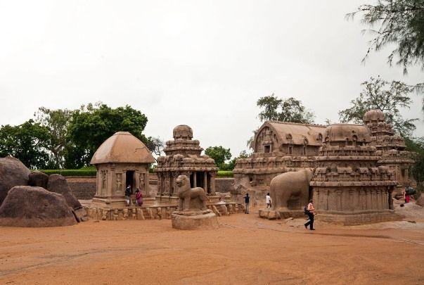 Pancha Rathas, Mahabalipuram