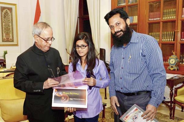 Muslim Girl won Bhagavad Gita contest