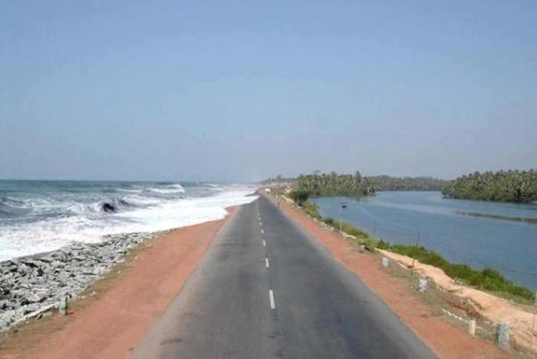 Maravanthe Beach, Kundapura - Karnataka