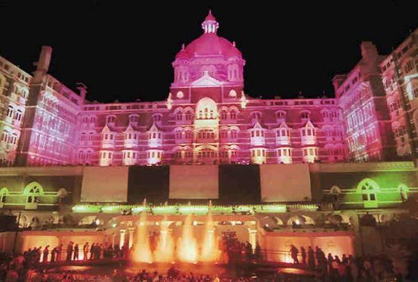 Taj Mahal Hotel, Mumbai on New Years Eve