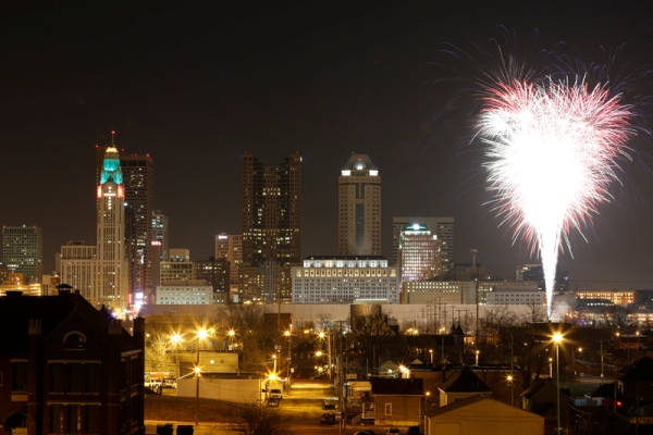 Columbus New Years Eve Fireworks