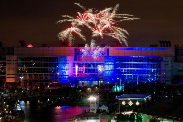 Houston New Year's Eve Fireworks