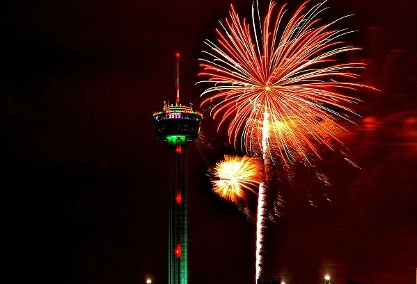 San Antonio New Years Eve Fireworks