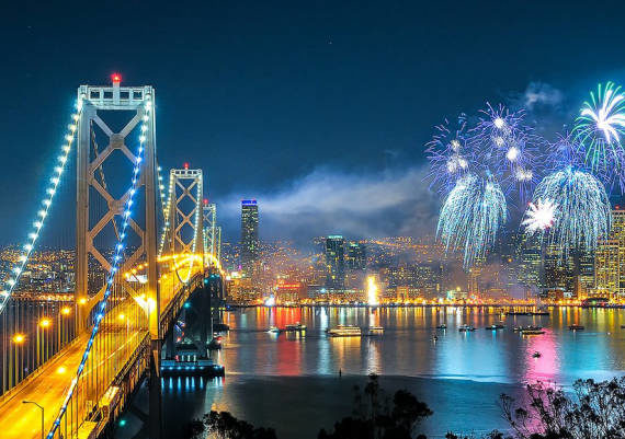 6 New Year's Eve Destinations in California for Best Parties [2018-2019]