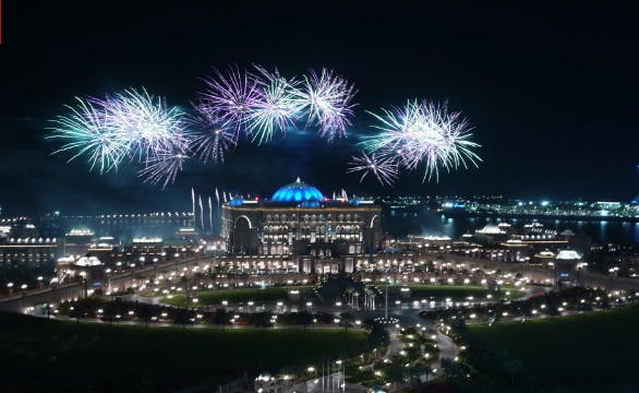 Abu Dhabi New Years Eve Fireworks