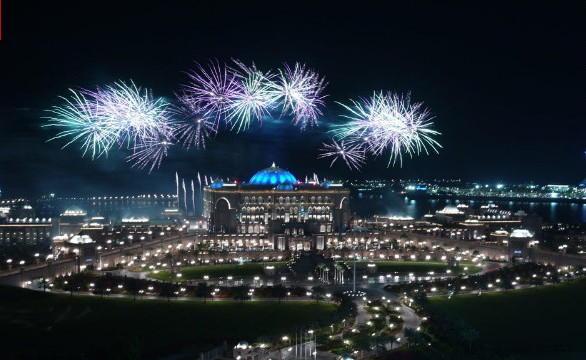 Abu Dhabi New Years Eve Fireworks
