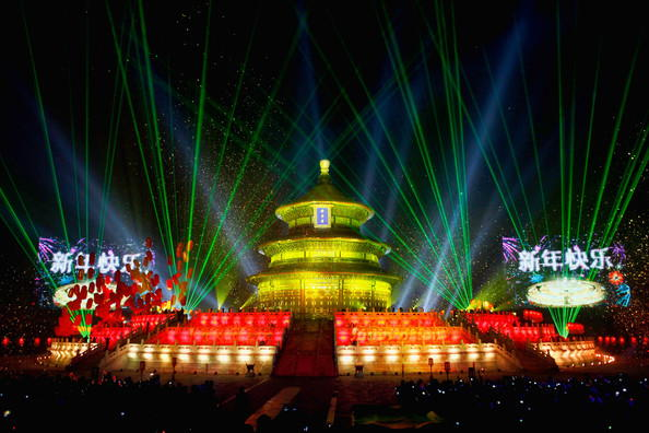 Beijing New Years Eve Celebration
