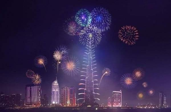 Burj Khalifa New Years Eve Fireworks
