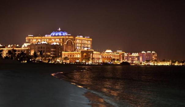 Emirates Palace Abu Dhabi New Years Eve